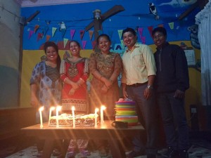 Onni birthday staff